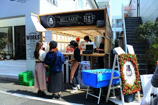 目黒川 桜 屋台