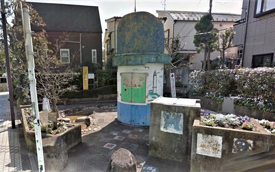 武蔵小山 水遊び場