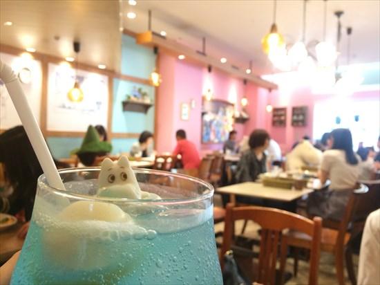 ムーミンカフェ ラクーア ブログ