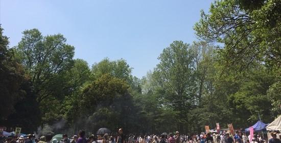 林試の森フェスタ