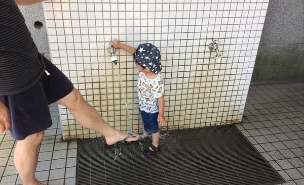 二子玉川 公園 水遊び