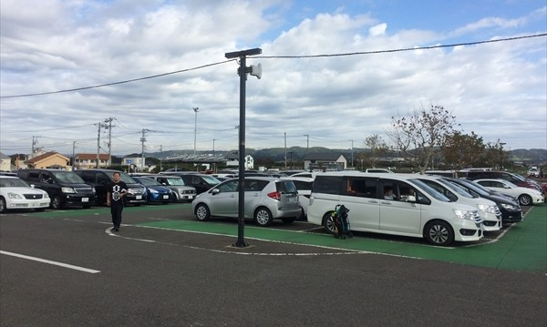 ソレイユの丘 駐車場 混雑