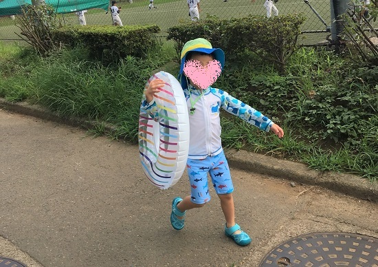 世田谷公園プール 水着