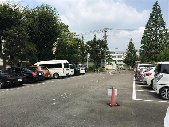世田谷公園プール 駐車場