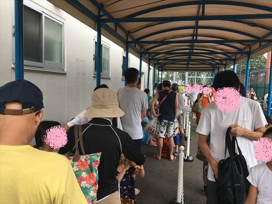 世田谷公園プール 混雑