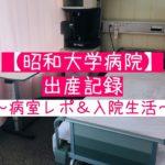 昭和大学病院 出産 病室